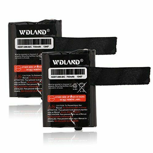 WDLAND 3.6V 700mah Nickel Metal Hydride Two-way Radio Rechargeable Battery Pack