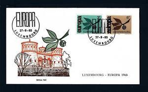 LUSSEMBURGO-1965-Europa-su-busta-primo-giorno-B