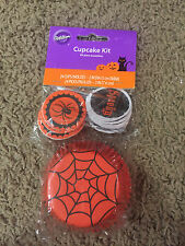 Wilton Halloween Cupcake Combo Baking Kit Cupcake Baking Cups & Picks NEW Spider