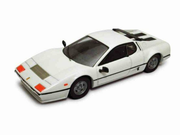 Ferrari 512 Bb 1976 White 1:43 Model BEST MODELS