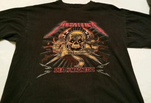 Metallica Death Magnetic Tour black T-shirt Adult Large