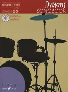 Intelligent Le Faber Classés Rock & Pop Drums Répertoire Grade 2-3 Music Book/cd-afficher Le Titre D'origine