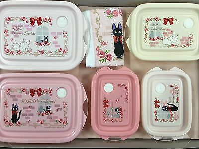 New Skater Tupper Lunch Box Gift Set Kiki's Delivery Service Rose MADE IN JAPAN