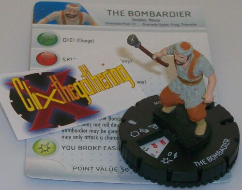 THE BOMBARDIER 005 #5 Assassin's Creed Revelations HeroClix