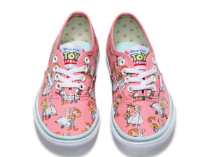 ea23023a0c7 Vans Kids Toy Story Authentic Woody Bo Peep Shoes sneakers size 13.0 ...
