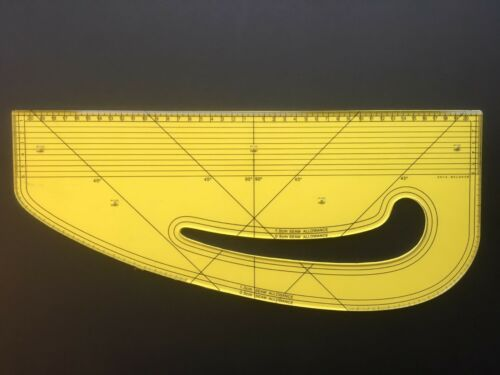 Pattern Maker Fashion Master Metric Acrylic Seam Ripper Design-Surgery® Awl