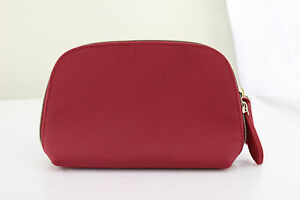 b21ce0023179 Image is loading Burberry-Beauty-Red-Cosmetic-Makeup-Purse-Bag-Clutch-