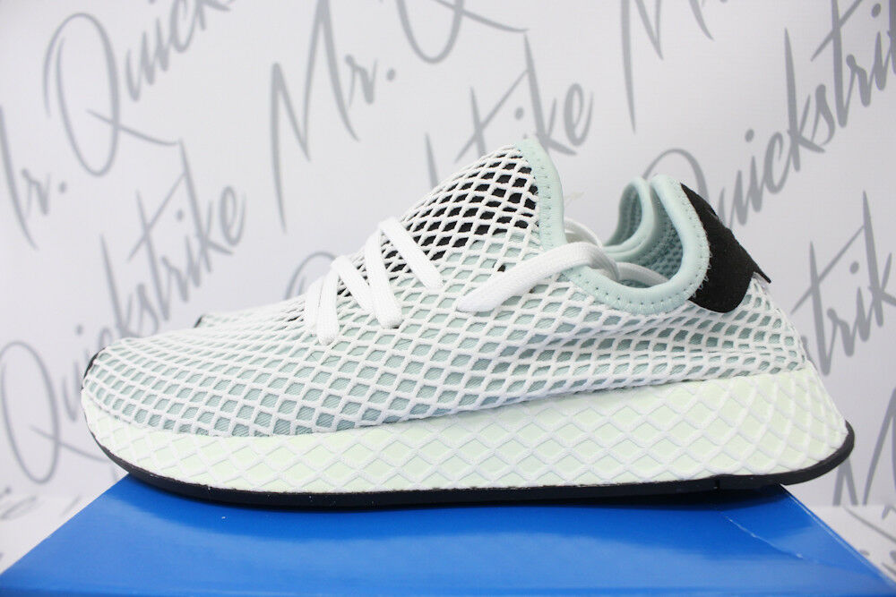 Damenschuhe SZ ADIDAS ORIGINALS DEERUPT RUNNER SZ Damenschuhe 7.5 ASH GREEN CORE BLACK CQ2911 a6ef2e
