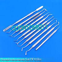 Dental Instruments Set Of 10 Pcs Filling Instruments