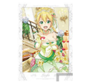 Banpresto Sword Art Online integral factor Special Poster The First byte Leafa