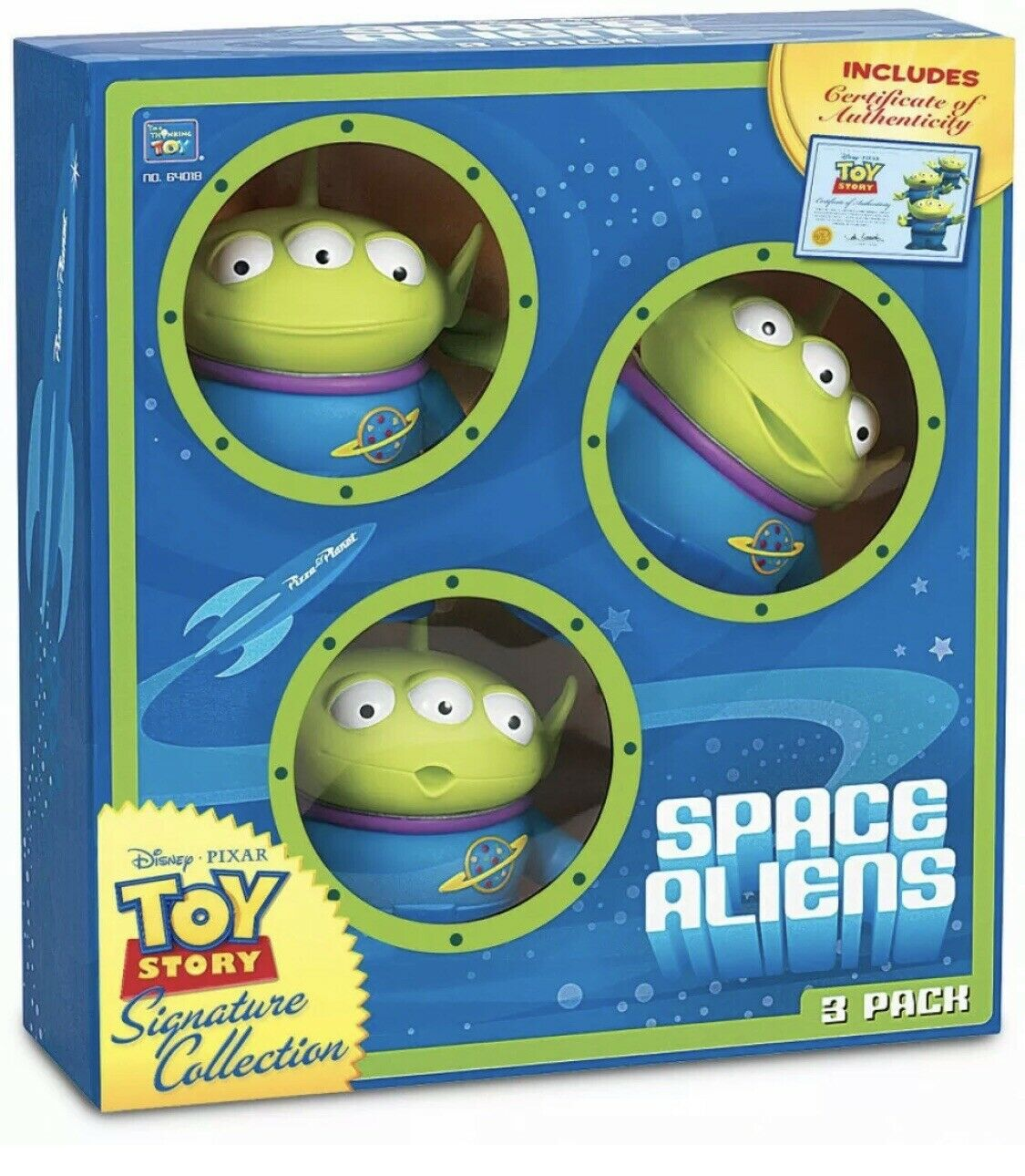 Raro  Juguete Story Signature Collection Aliens 3 Pack  Coleccionable Space