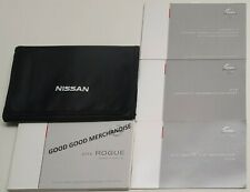 2016 Nissan Rogue Owners Manual Guide Book For Sale Online Ebay