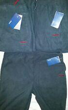 Reebok mens polar fleece pants all sizes orca grey size XL XLarge