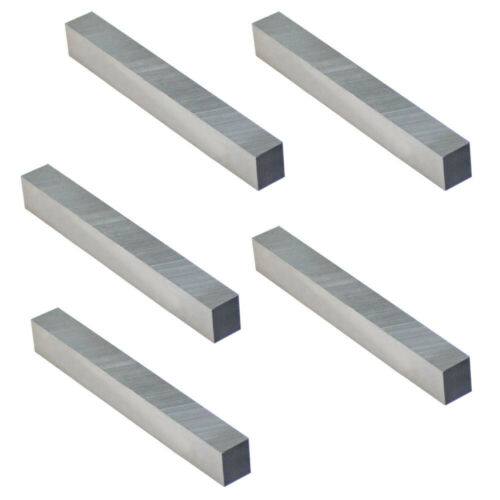 5 Pc 3//8/'/' x 3//8/'/' x 3/'/' HSS Square Bits Lathe Fly Cutter Mill Blank Lathing