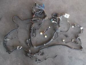 NISSAN SILVIA S13 CA18DET engine bay wiring loom harness cut #6 Not for engine