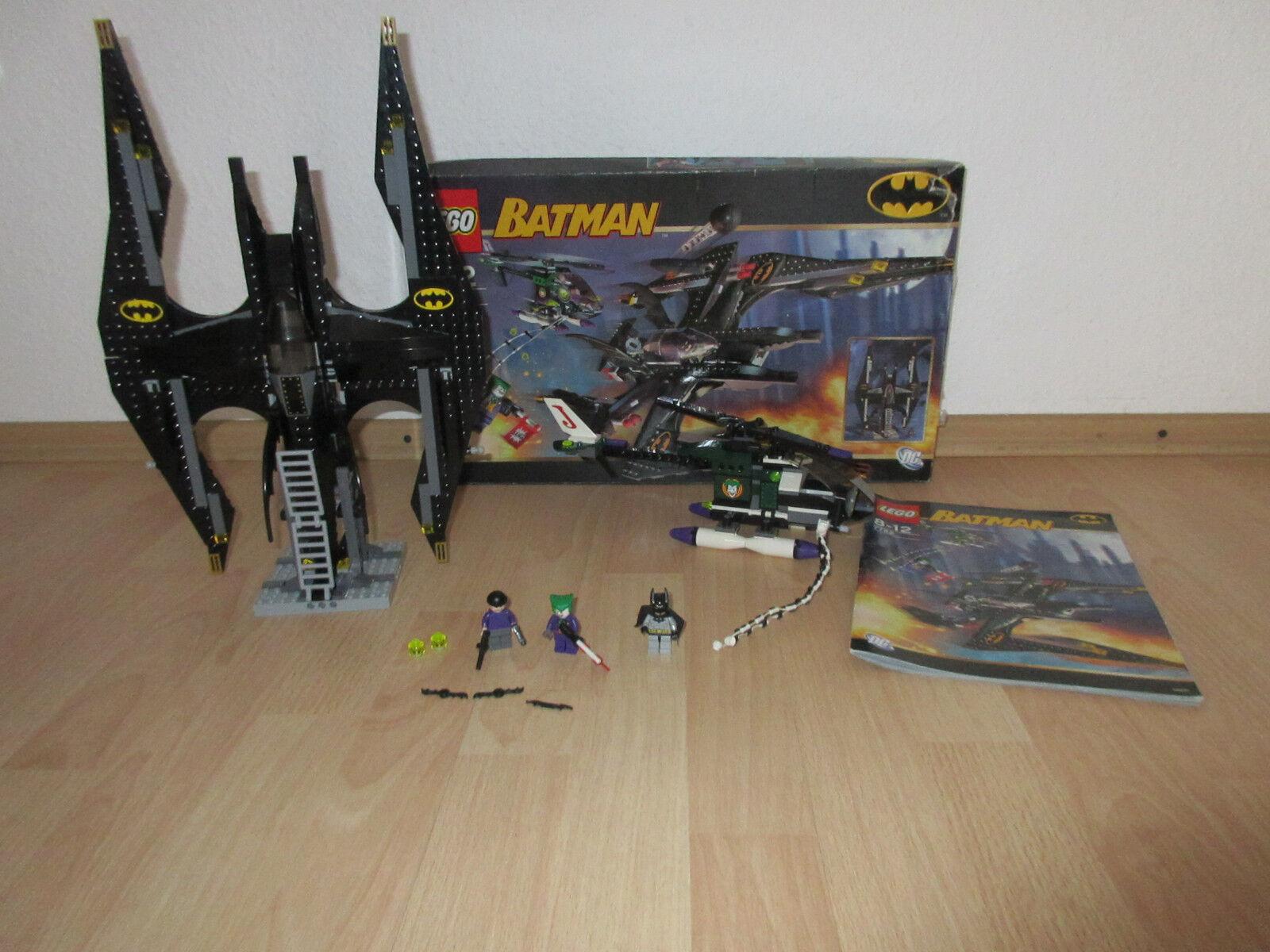 LEGO Batman 7782 The Joker's Aerial Assault mit Figuren, Bauplan & Karton    Qualitätskönigin