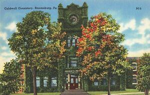Postcard-Caldwell-Consistory-Bloomsburg-Pennsylvania