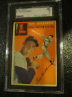 1954 TOPPS #1 TED WILLIAMS BOSTON RED SOX BASEBALL CARD SGC 40 VG 3 NICE