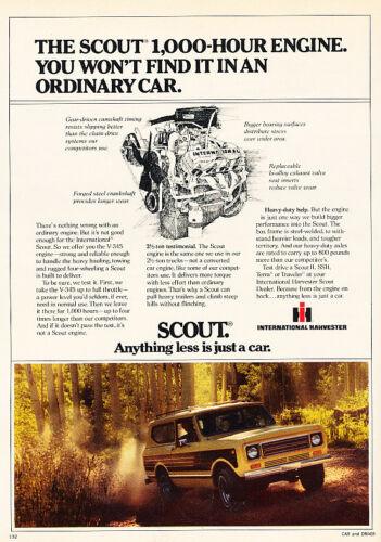 Classic Vintage Advertisement Ad D19 1979 IHC International Harvester Scout
