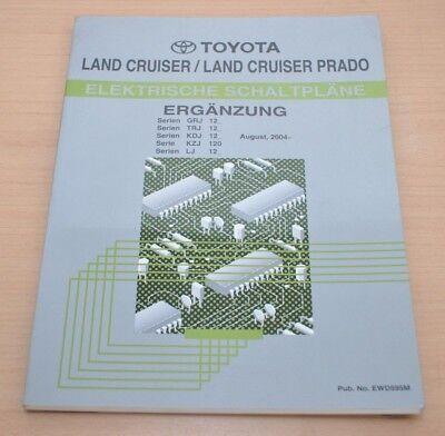Toyota Land Cruiser Schaltpläne GRJ12 TRJ12 KDJ12 Ergänzung ...