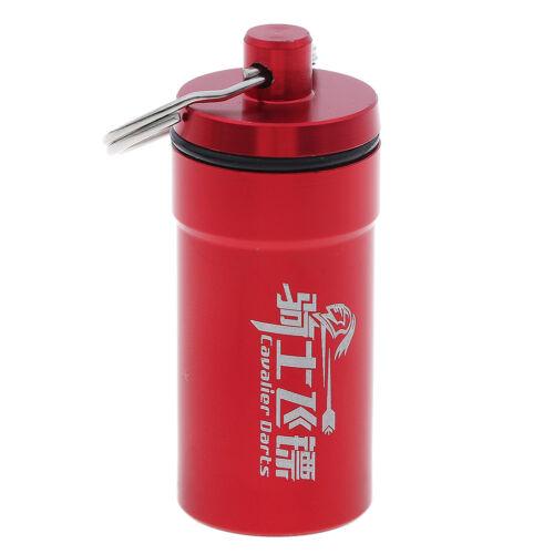 Soft Dart Head Tip Points Storage Case Box Flight Protector Portable ZY