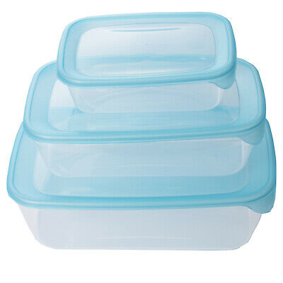 Curver Plastic Food Containers Pack of 5 BPA FREE Dishwasher Microwave Freezer