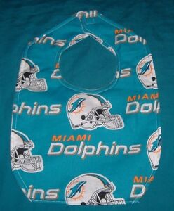 New-BABY-CHILD-BIB-MIAMI-DOLPHINS-FOOTBALL-TEAM-HELMET-SHIPPING-DISCOUNTS
