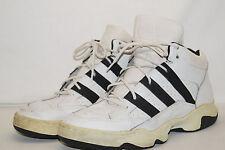 adidas mid vintage Basketball Sport Schuhe Gr.46 weiss schwarz release 1995