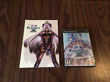 Xenosaga: Episode III 3 (PS2) Brand New - Lenticular Hologram cover + Artbook