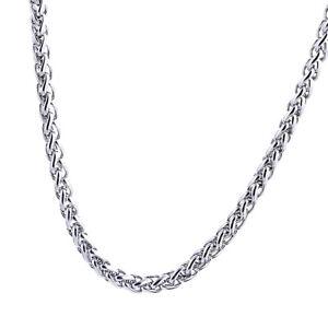Collana-girocollo-con-catena-a-maglie-in-argento-e-acciaio-inossidabile-da