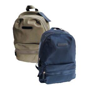 eb8d1310f2 NWT Women's Tommy Hilfiger Navy Blue Khaki Backpack Nylon Tommy Logo ...