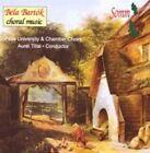 Bela Bartok Choral Music 0748871221628 CD