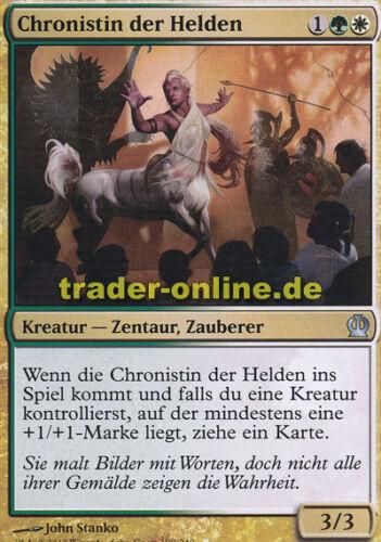 Chronicler of Heroes 2x Chronistin der Helden Theros Magic