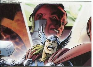 Marvel Universe 2011 Parallel Acetate Base Card #83