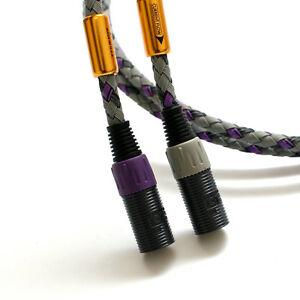 1-Pair-Signature-3-S3-2-XLR-Balanced-Interconnect-Audio-Cable-1-5m