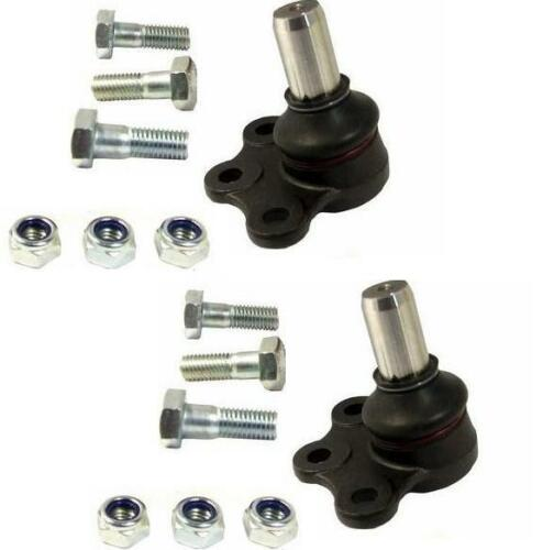 SAAB 9-5 95 MK2  2002 ON 2 FRONT LOWER BALL JOINTS NEW  20MM
