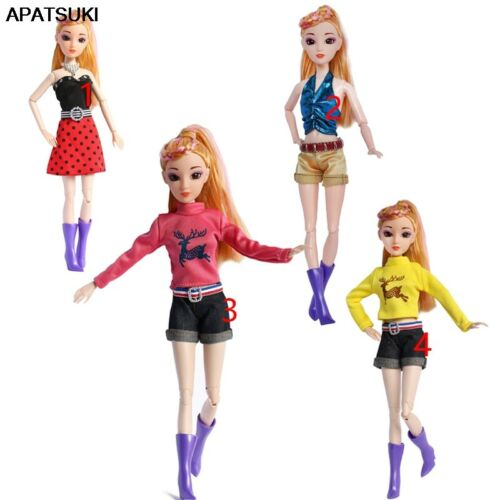 "Fashion Doll Clothes for 11.5/"" Dolls Dress 1//6 BJD Doll Outfits Accessories Toy"