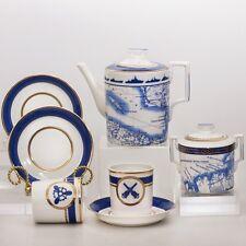 Russian Imperial Lomonosov Porcelain Tea set The Wardroom 6/14