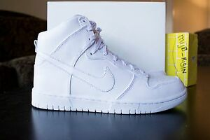 db44dcc3ae4d1 Details about New Nike Lab Dunk Lux SP High Triple White QS 718790 101 FREE  SHIPPING!!!