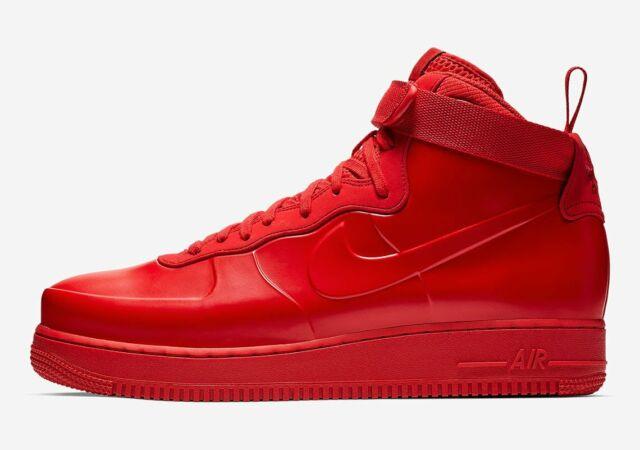1 Mens Force Red Na University Foamposite Black Air 600 New Nike Af1 Bv1172 Cup nNOvm80w