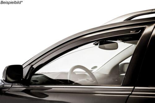 Windabweiser passend für Toyota Avensis 1 I T22 4 Türen 1997-2003 4tlg Heko