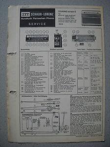 ITT-Schaub-Lorenz-Touring-europa-S-Service-Manual