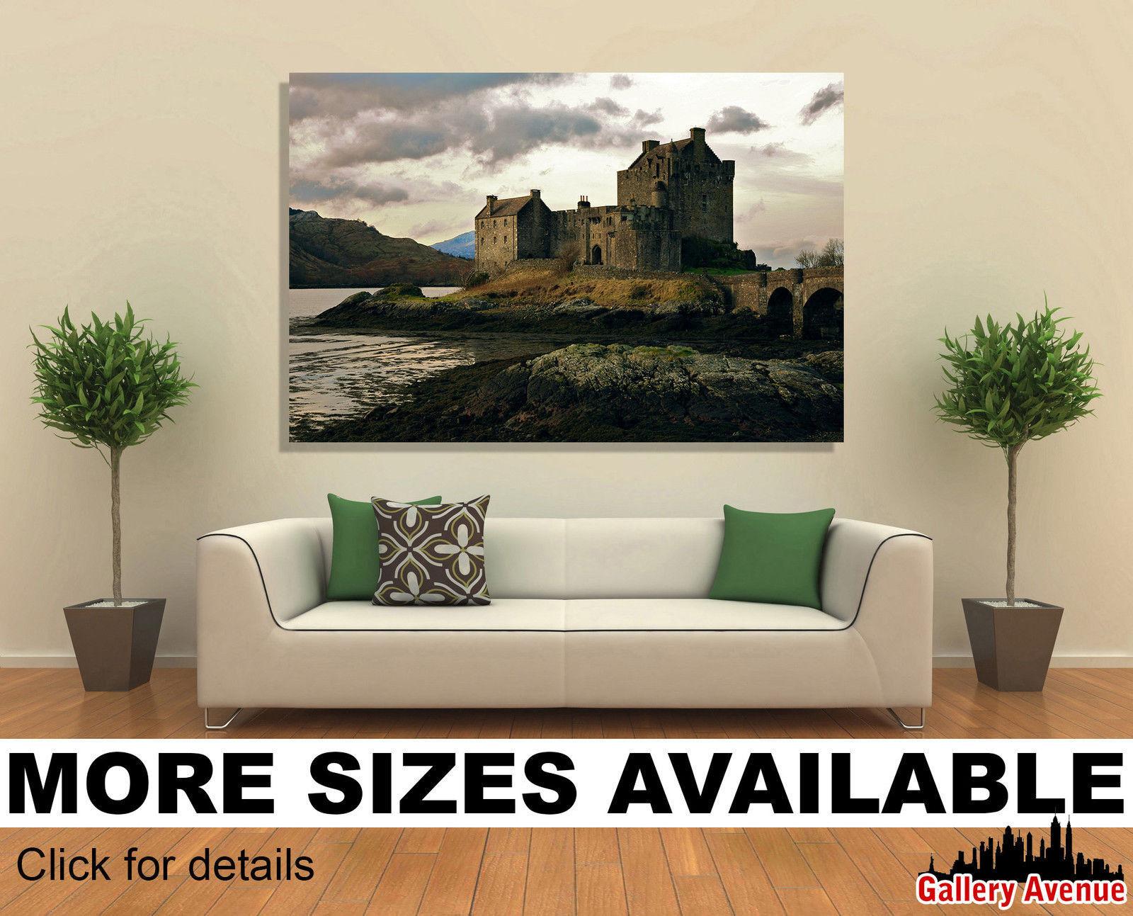 Wall Art Canvas Picture Print - Eilean Donan Castle Scotland 3.2