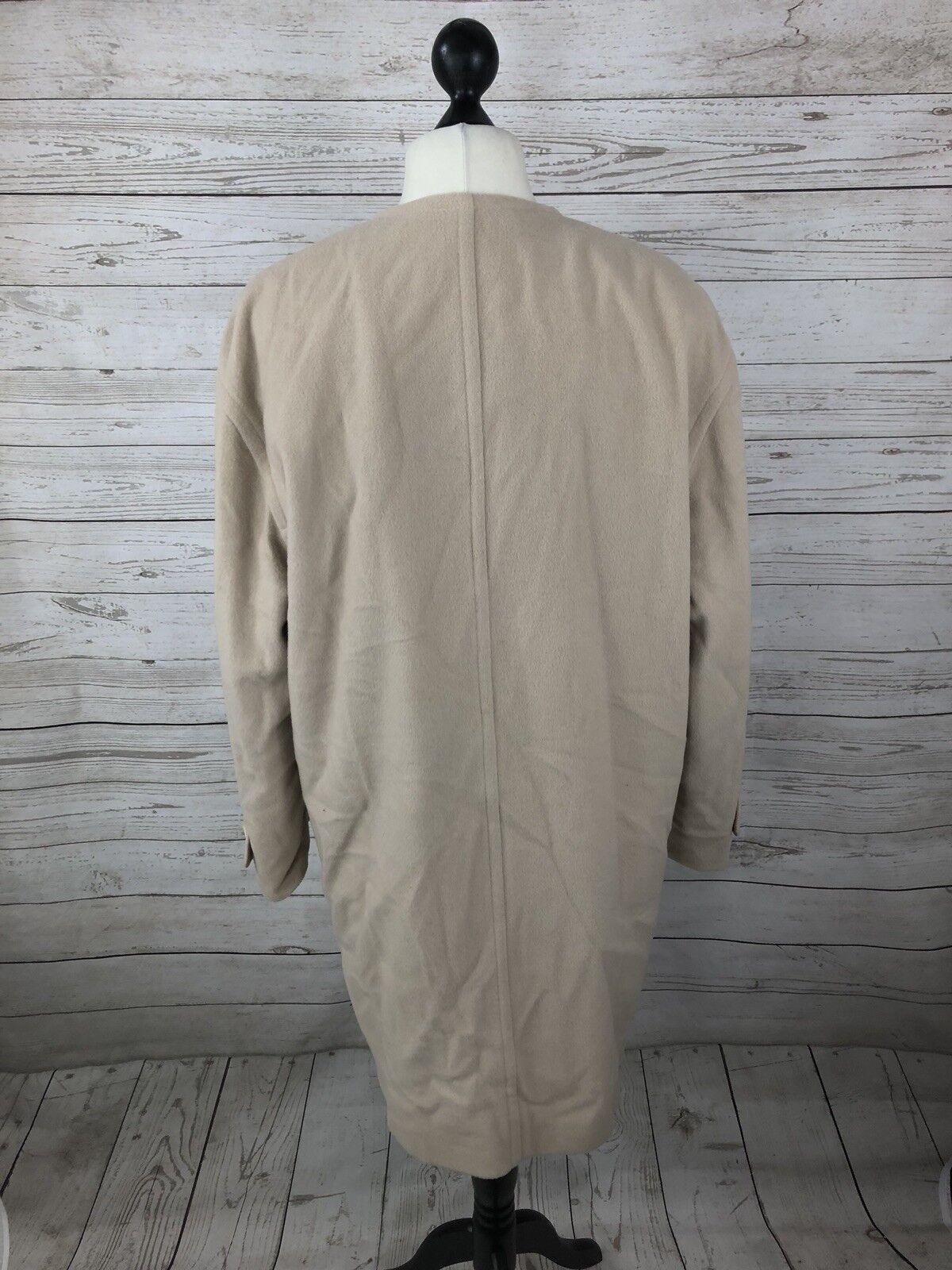 AUSTIN REED Vintage Overcoat Overcoat Overcoat - UK14 - Wool & Cashmere - Great Condition -damen's | Deutschland Berlin  | Um Sowohl Die Qualität Der Zähigkeit Und Härte  | Jeder beschriebene Artikel ist verfügbar  e33e84