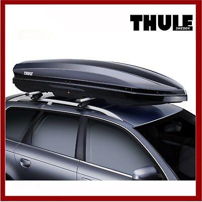 Thule Dynamic 800 M Car Roof Box Black Gloss Top Box Storage Brand New Ebay