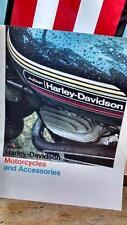 Harley AMF #1 1974 Motorcycles Accessories aermacchi 99541-74V x90 SR100 SX 175