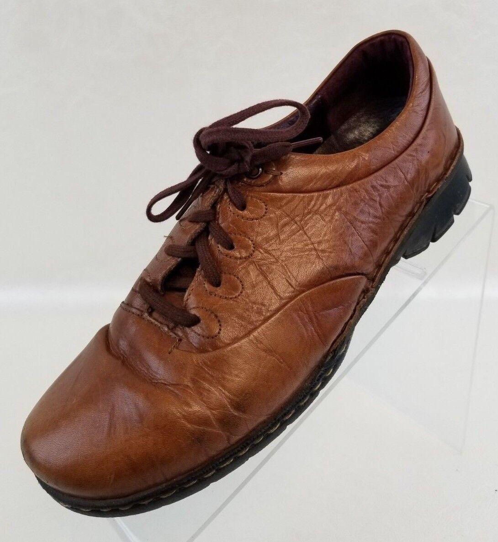 Josef Seibel Oxfords marrón Leather Lace Up mujer zapatos zapatos zapatos Talla EU 38 US 7.5  entrega gratis