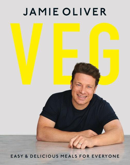 Veg by Jamie Oliver - Vegetarian Cookbook Recipe Book Meat Free Meals - Hardback