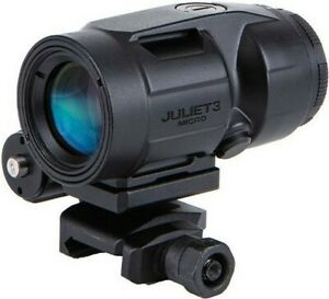 Sig Sauer SOJ3M001 Juliet3 3x22mm Micro Magnifier w/ Push Button Mnt & Spacers