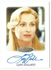 Women-of-Star-Trek-50th-Anniversary-Chase-Autograph-Card-Voyager-Lori-Hallier